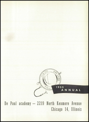 Page 5, 1955 Edition, DePaul Academy - Annual Yearbook (Chicago, IL) online yearbook collection