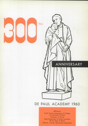 Page 5, 1960 Edition, DePaul Academy - Annual Yearbook (Chicago, IL) online yearbook collection