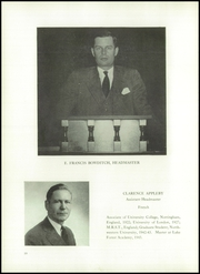 Page 14, 1946 Edition, Lake Forest Academy - Caxy Yearbook (Lake Forest, IL) online yearbook collection