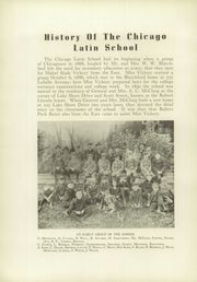Page 10, 1938 Edition, Latin School of Chicago - Sigillum Yearbook (Chicago, IL) online yearbook collection