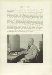 Page 15, 1938 Edition, Latin School of Chicago - Sigillum Yearbook (Chicago, IL) online yearbook collection