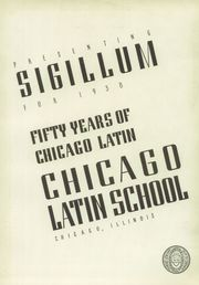 Page 7, 1938 Edition, Latin School of Chicago - Sigillum Yearbook (Chicago, IL) online yearbook collection