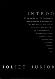 Page 6, 1935 Edition, Joliet Junior College - Shield Yearbook (Joliet, IL) online yearbook collection