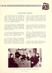 Page 15, 1936 Edition, Joliet Junior College - Shield Yearbook (Joliet, IL) online yearbook collection
