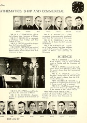 Page 13, 1938 Edition, Joliet Junior College - Shield Yearbook (Joliet, IL) online yearbook collection