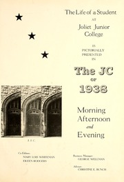 Page 5, 1938 Edition, Joliet Junior College - Shield Yearbook (Joliet, IL) online yearbook collection