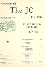 Page 5, 1939 Edition, Joliet Junior College - Shield Yearbook (Joliet, IL) online yearbook collection