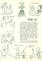 Page 6, 1939 Edition, Joliet Junior College - Shield Yearbook (Joliet, IL) online yearbook collection
