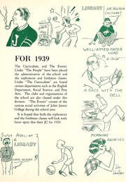 Page 7, 1939 Edition, Joliet Junior College - Shield Yearbook (Joliet, IL) online yearbook collection