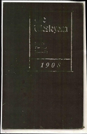 Page 1, 1908 Edition, Illinois Wesleyan University - Wesleyana Yearbook (Bloomington, IL) online yearbook collection