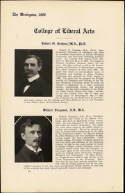 Page 14, 1908 Edition, Illinois Wesleyan University - Wesleyana Yearbook (Bloomington, IL) online yearbook collection