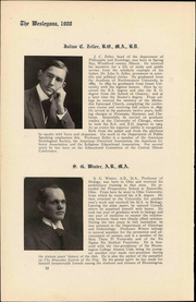 Page 16, 1908 Edition, Illinois Wesleyan University - Wesleyana Yearbook (Bloomington, IL) online yearbook collection