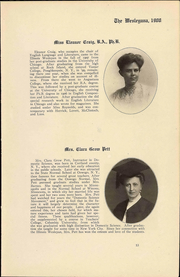 Page 17, 1908 Edition, Illinois Wesleyan University - Wesleyana Yearbook (Bloomington, IL) online yearbook collection