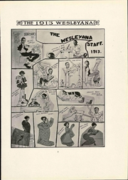 Page 13, 1913 Edition, Illinois Wesleyan University - Wesleyana Yearbook (Bloomington, IL) online yearbook collection