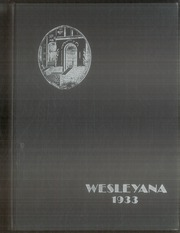 Page 1, 1933 Edition, Illinois Wesleyan University - Wesleyana Yearbook (Bloomington, IL) online yearbook collection