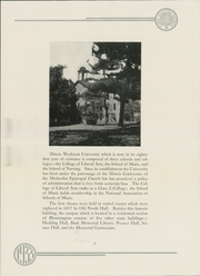 Page 13, 1933 Edition, Illinois Wesleyan University - Wesleyana Yearbook (Bloomington, IL) online yearbook collection