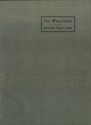 Page 5, 1933 Edition, Illinois Wesleyan University - Wesleyana Yearbook (Bloomington, IL) online yearbook collection