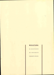 Page 5, 1934 Edition, Illinois Wesleyan University - Wesleyana Yearbook (Bloomington, IL) online yearbook collection