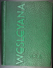 Page 1, 1938 Edition, Illinois Wesleyan University - Wesleyana Yearbook (Bloomington, IL) online yearbook collection