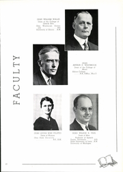 Page 15, 1938 Edition, Illinois Wesleyan University - Wesleyana Yearbook (Bloomington, IL) online yearbook collection