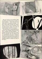 Page 11, 1952 Edition, Illinois Wesleyan University - Wesleyana Yearbook (Bloomington, IL) online yearbook collection