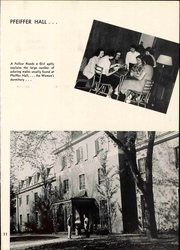 Page 17, 1952 Edition, Illinois Wesleyan University - Wesleyana Yearbook (Bloomington, IL) online yearbook collection