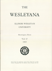 Page 5, 1960 Edition, Illinois Wesleyan University - Wesleyana Yearbook (Bloomington, IL) online yearbook collection