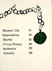 Page 7, 1966 Edition, Illinois Wesleyan University - Wesleyana Yearbook (Bloomington, IL) online yearbook collection