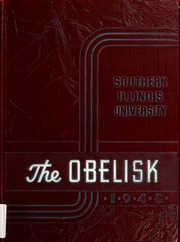 Page 1, 1948 Edition, Southern Illinois University - Obelisk Yearbook (Carbondale, IL) online yearbook collection