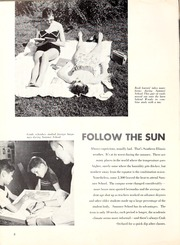 Page 10, 1956 Edition, Southern Illinois University - Obelisk Yearbook (Carbondale, IL) online yearbook collection