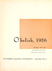 Page 5, 1956 Edition, Southern Illinois University - Obelisk Yearbook (Carbondale, IL) online yearbook collection