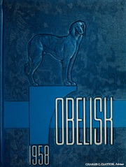 1958 Edition, Southern Illinois University - Obelisk Yearbook (Carbondale, IL)