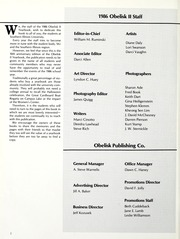 Page 6, 1986 Edition, Southern Illinois University - Obelisk Yearbook (Carbondale, IL) online yearbook collection