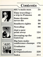 Page 7, 1986 Edition, Southern Illinois University - Obelisk Yearbook (Carbondale, IL) online yearbook collection