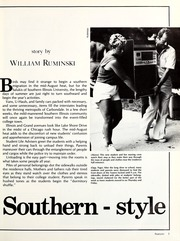 Page 9, 1986 Edition, Southern Illinois University - Obelisk Yearbook (Carbondale, IL) online yearbook collection