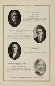 Page 15, 1917 Edition, Carthage College - Crimson Rambler Yearbook (Carthage, IL) online yearbook collection