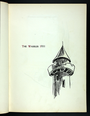 Page 7, 1931 Edition, Eastern Illinois University - Warbler Yearbook (Charleston, IL) online yearbook collection