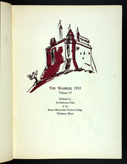 Page 9, 1931 Edition, Eastern Illinois University - Warbler Yearbook (Charleston, IL) online yearbook collection