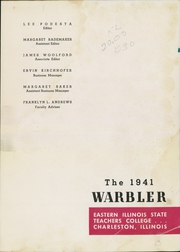 Page 5, 1941 Edition, Eastern Illinois University - Warbler Yearbook (Charleston, IL) online yearbook collection