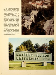 Page 10, 1970 Edition, Eastern Illinois University - Warbler Yearbook (Charleston, IL) online yearbook collection