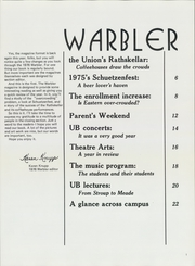 Page 7, 1976 Edition, Eastern Illinois University - Warbler Yearbook (Charleston, IL) online yearbook collection