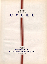 Page 4, 1934 Edition, Armour Institute of Technology - Cycle Yearbook (Chicago, IL) online yearbook collection