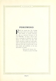 Page 13, 1925 Edition, Loyola University Chicago - Loyolan Yearbook (Chicago, IL) online yearbook collection