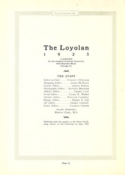 Page 6, 1925 Edition, Loyola University Chicago - Loyolan Yearbook (Chicago, IL) online yearbook collection