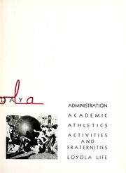 Page 17, 1938 Edition, Loyola University Chicago - Loyolan Yearbook (Chicago, IL) online yearbook collection