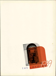 Page 9, 1939 Edition, Loyola University Chicago - Loyolan Yearbook (Chicago, IL) online yearbook collection