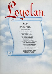 Page 9, 1950 Edition, Loyola University Chicago - Loyolan Yearbook (Chicago, IL) online yearbook collection