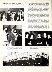 Page 10, 1965 Edition, Loyola University Chicago - Loyolan Yearbook (Chicago, IL) online yearbook collection