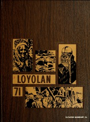 Loyola University Chicago - Loyolan Yearbook (Chicago, IL) online yearbook collection, 1971 Edition, Page 1