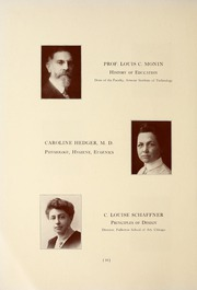 Page 14, 1917 Edition, National Louis University - National Yearbook (Chicago, IL) online yearbook collection